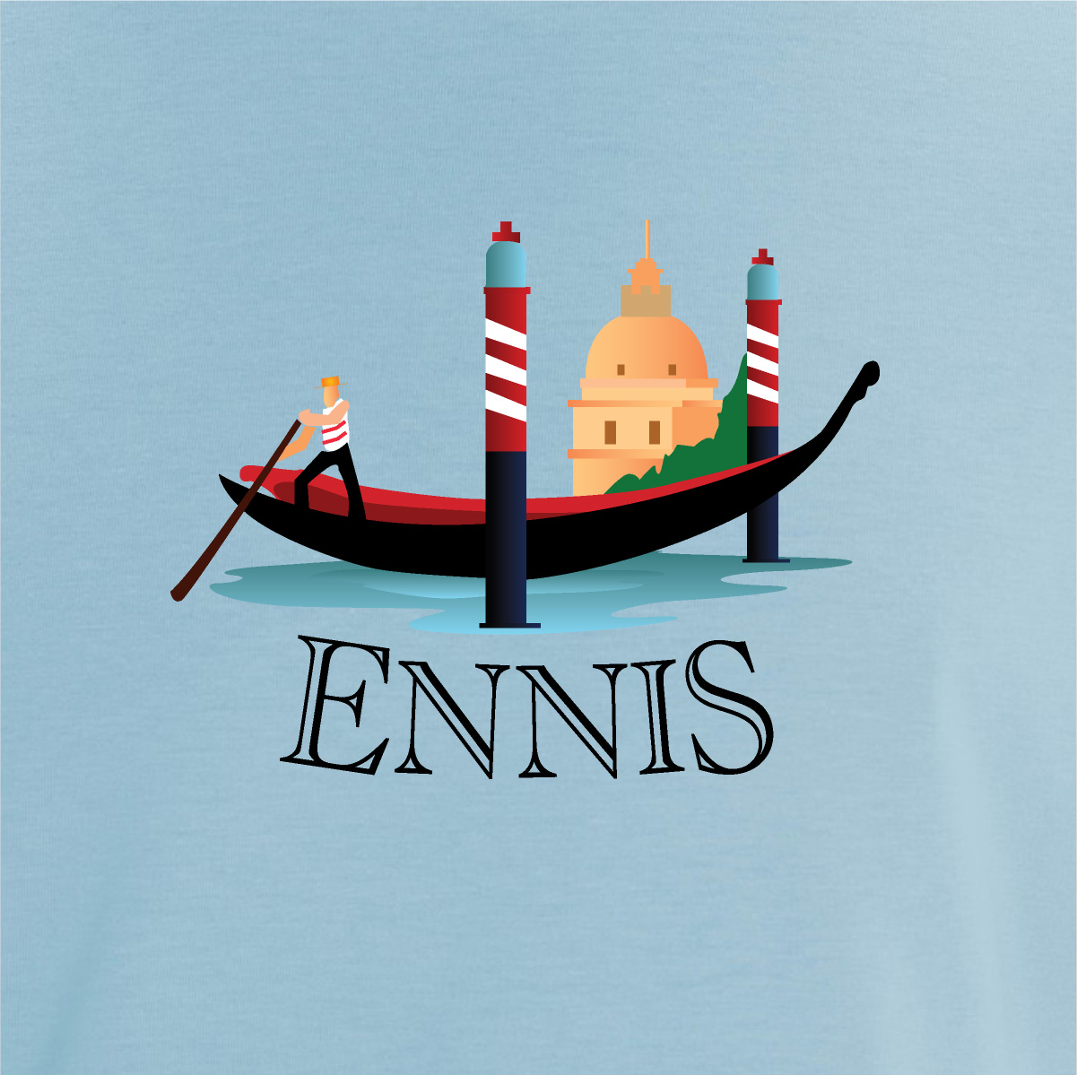 Ennis - Organic Fitted T (copy)