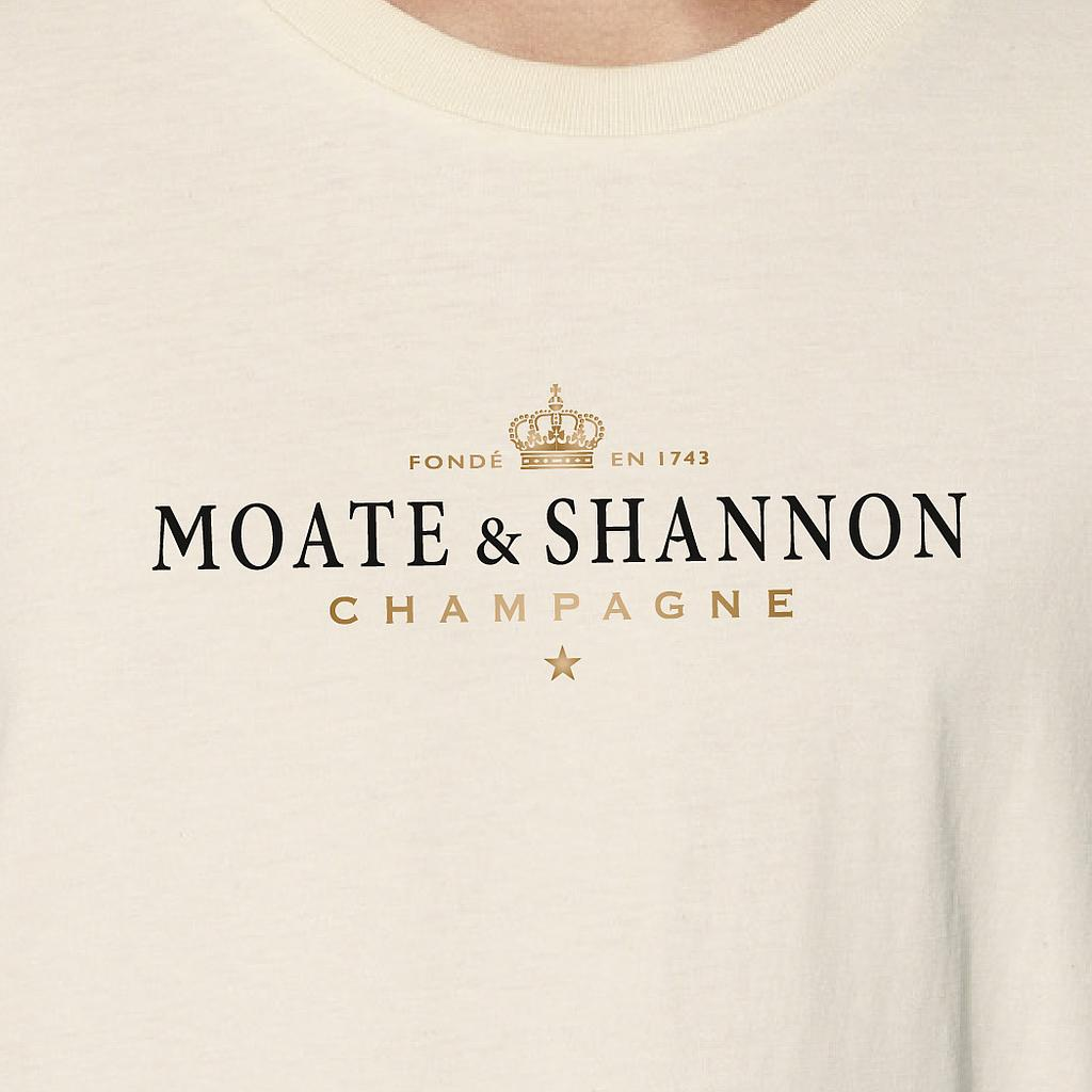 Moate & Shannon - Organic Fitted T