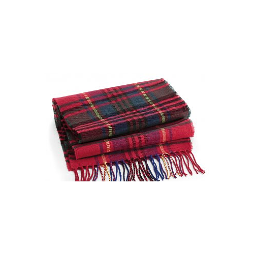 Beechfield Classic Check Scarf red