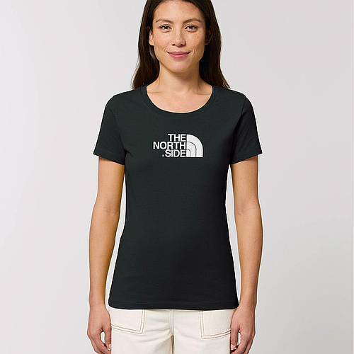 The North Side - Organic Fitted T